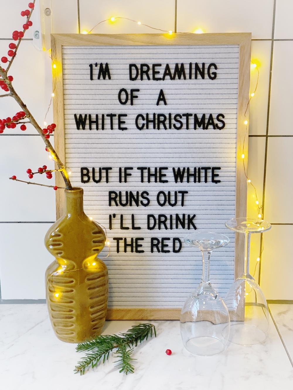 kerstspreuken voor je letterbord