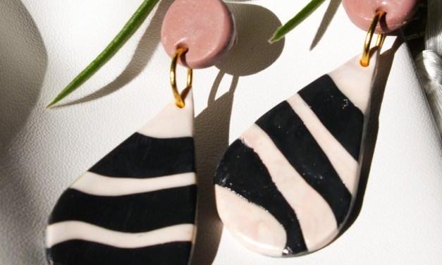 DIY: oorbellen maken van fimo klei (+ win shoptegoed)