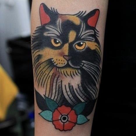 katten tattoo herinnering