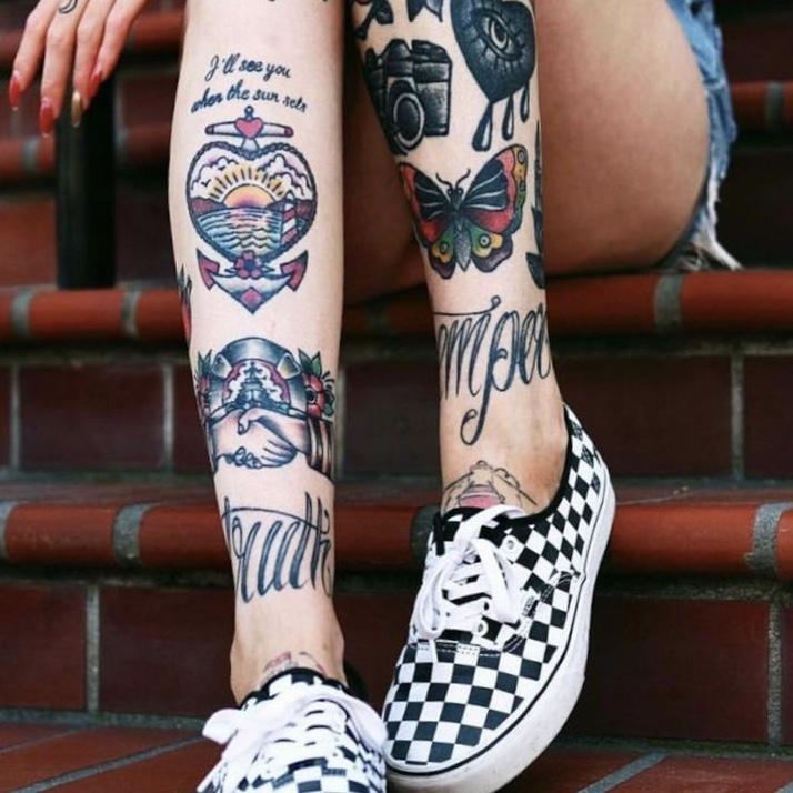 old school tattoo zon