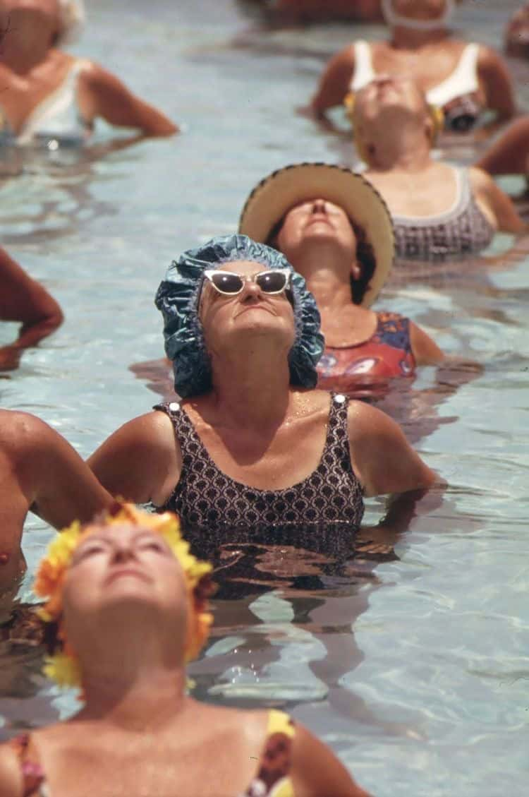 swimming old ladies
