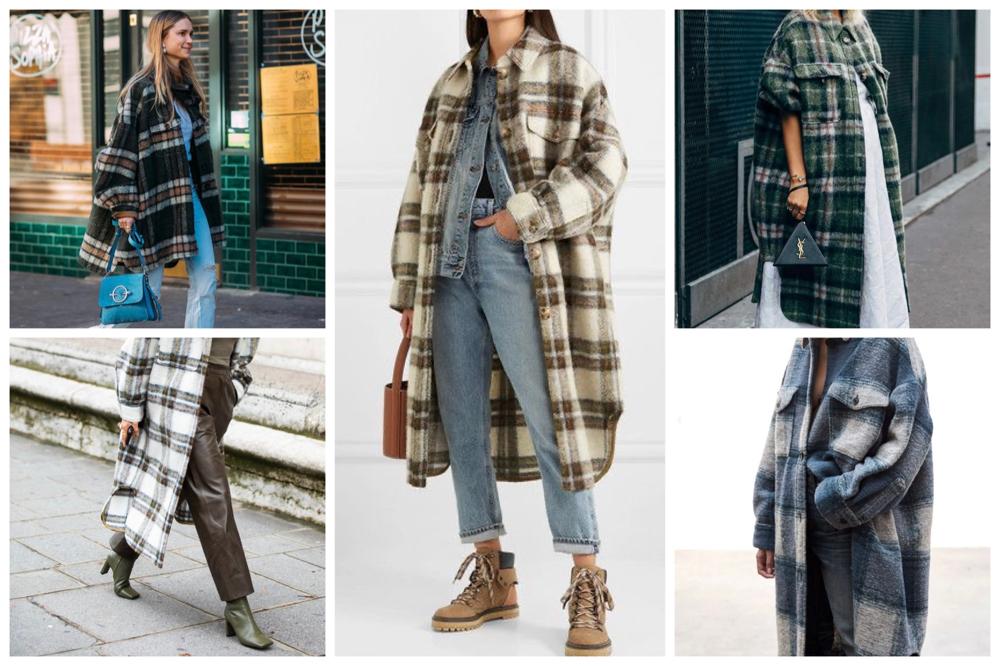 winterjassen trends geruite blouse jassen