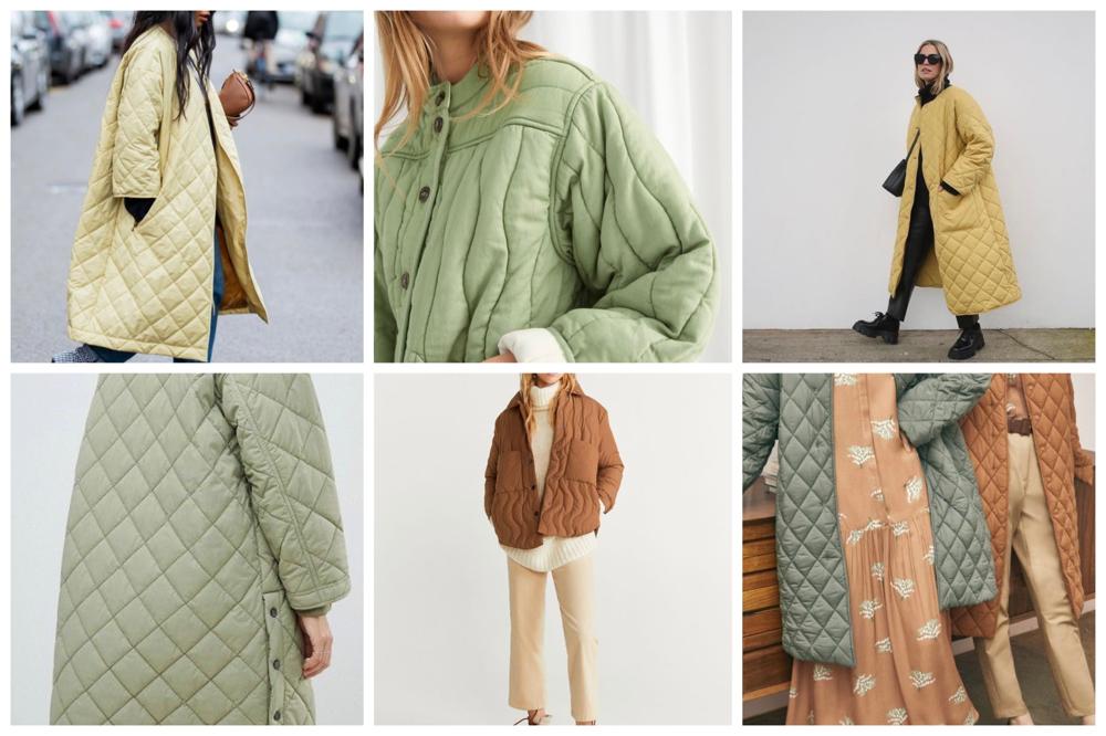 winterjassen trends quilted jas