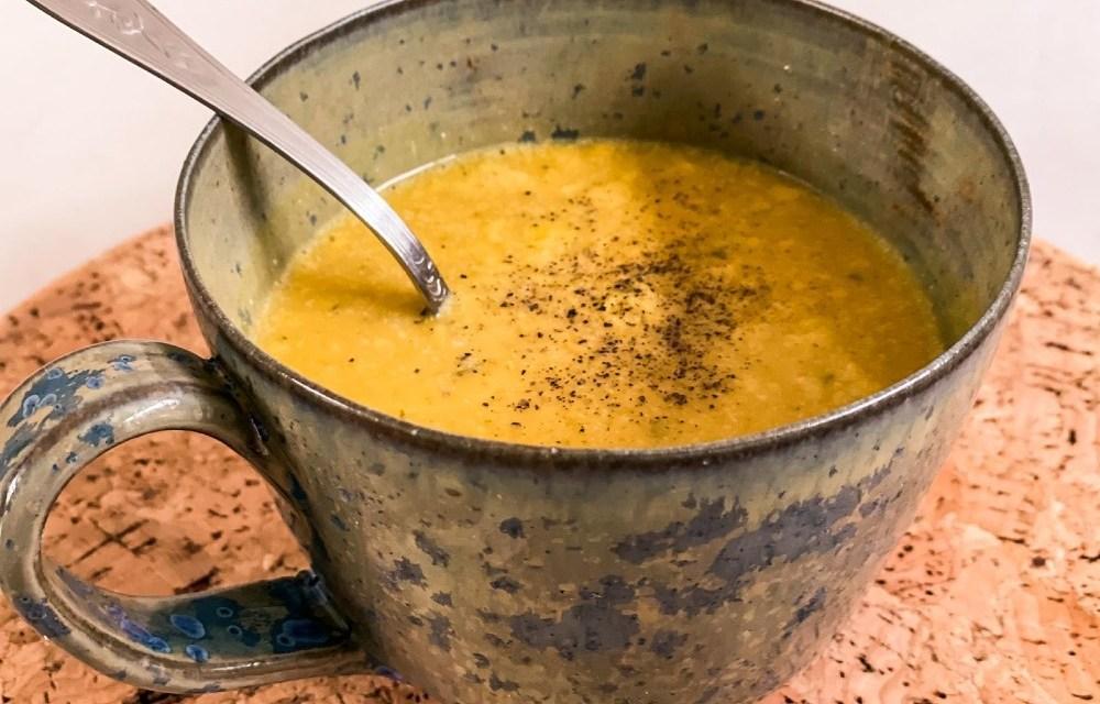Lekker soeprecept: pompoensoep met kerrie en kokos