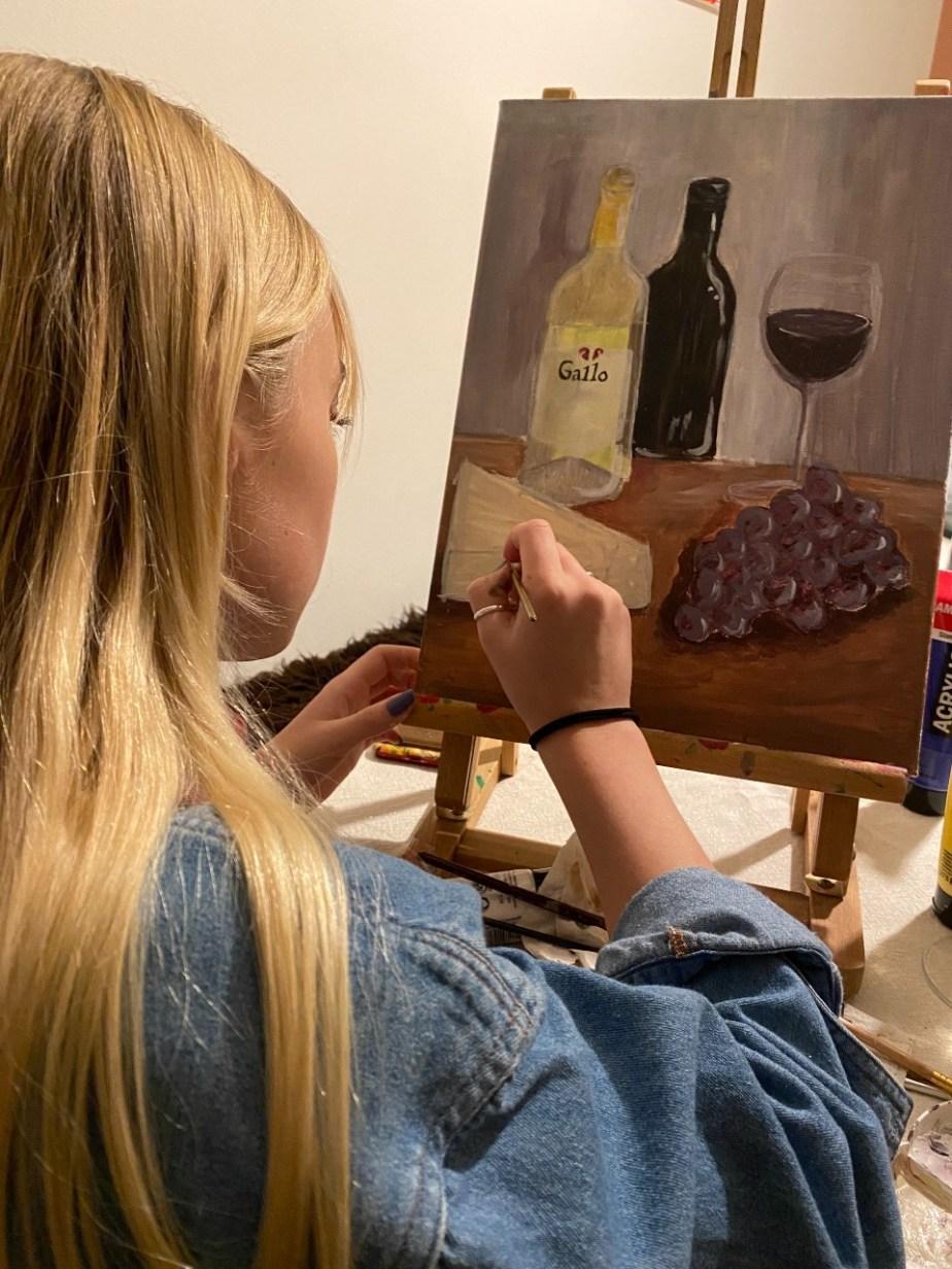 Kiki schilderen