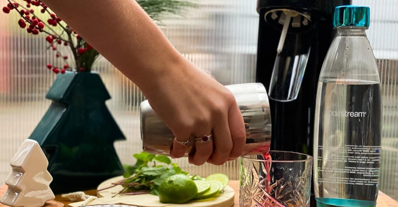 kerst cocktail met sodastream