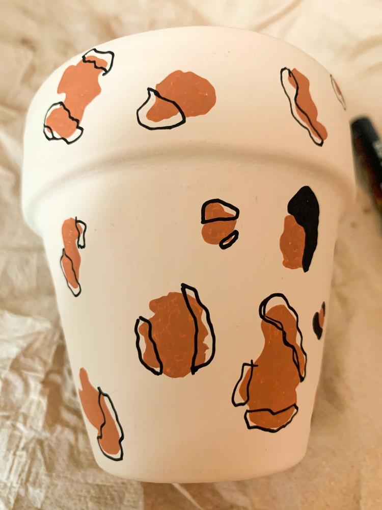 Panterprint tekenen