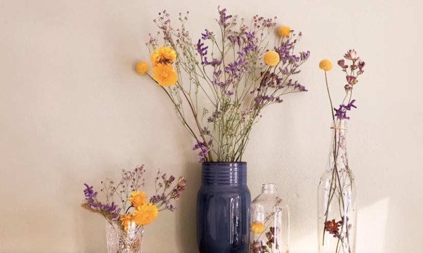 DIY | Bloemen drogen voor een superschatting droogbloemenboeket