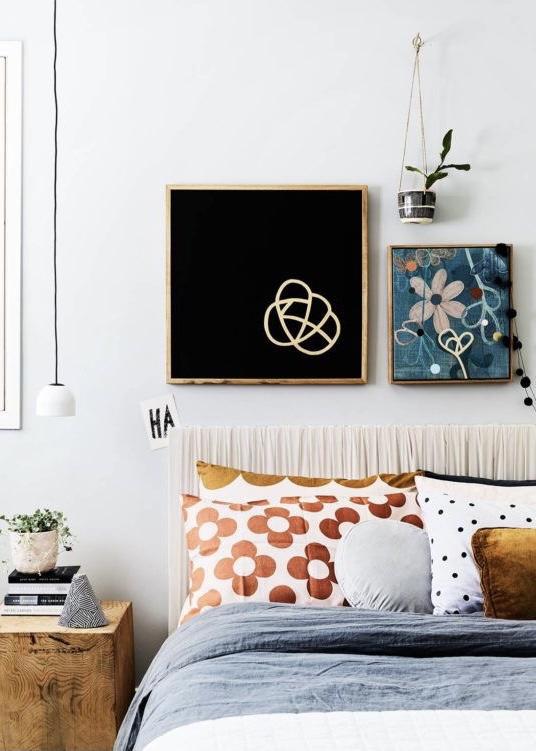 kleurrijke slaapkamer inspiratie