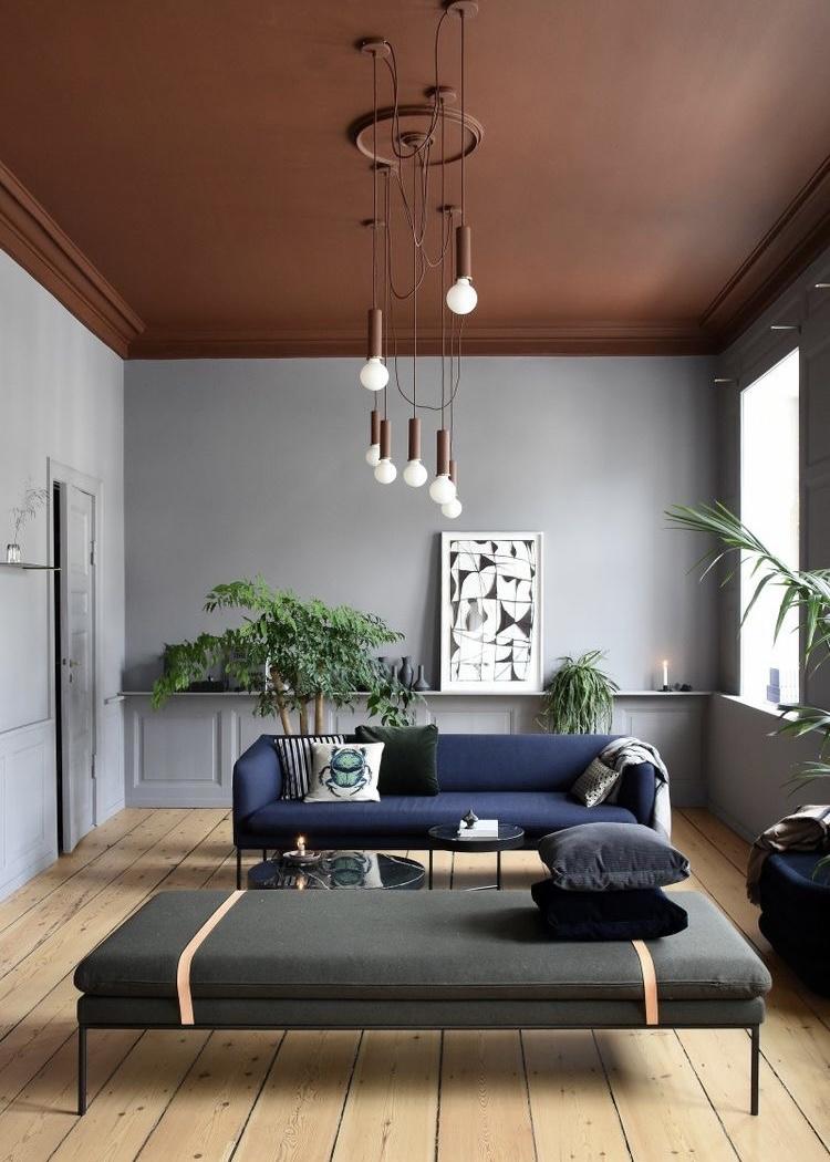 geschilderd plafond