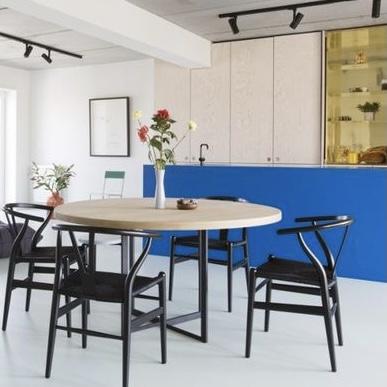 koningsblauwe keuken