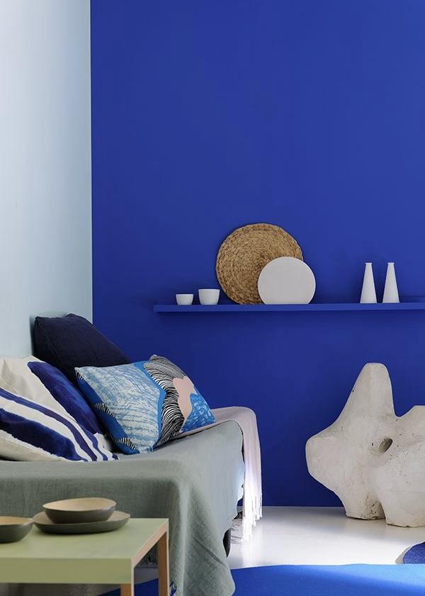 koningsblauwe muur
