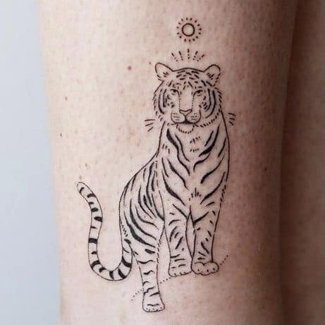 tijger tattoo