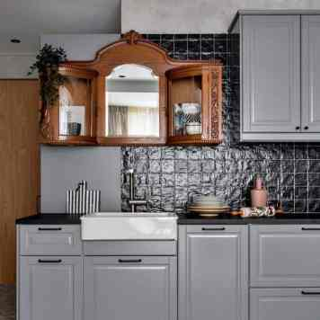 antiek keukenkastje