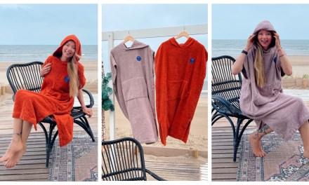 Winnen | poncho handdoek van Ponchy (t.w.v. 85 euro)