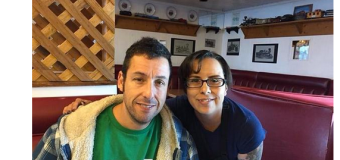 Tina Fey & Adam Sandler Spotted in Santa Fe, New Mexico