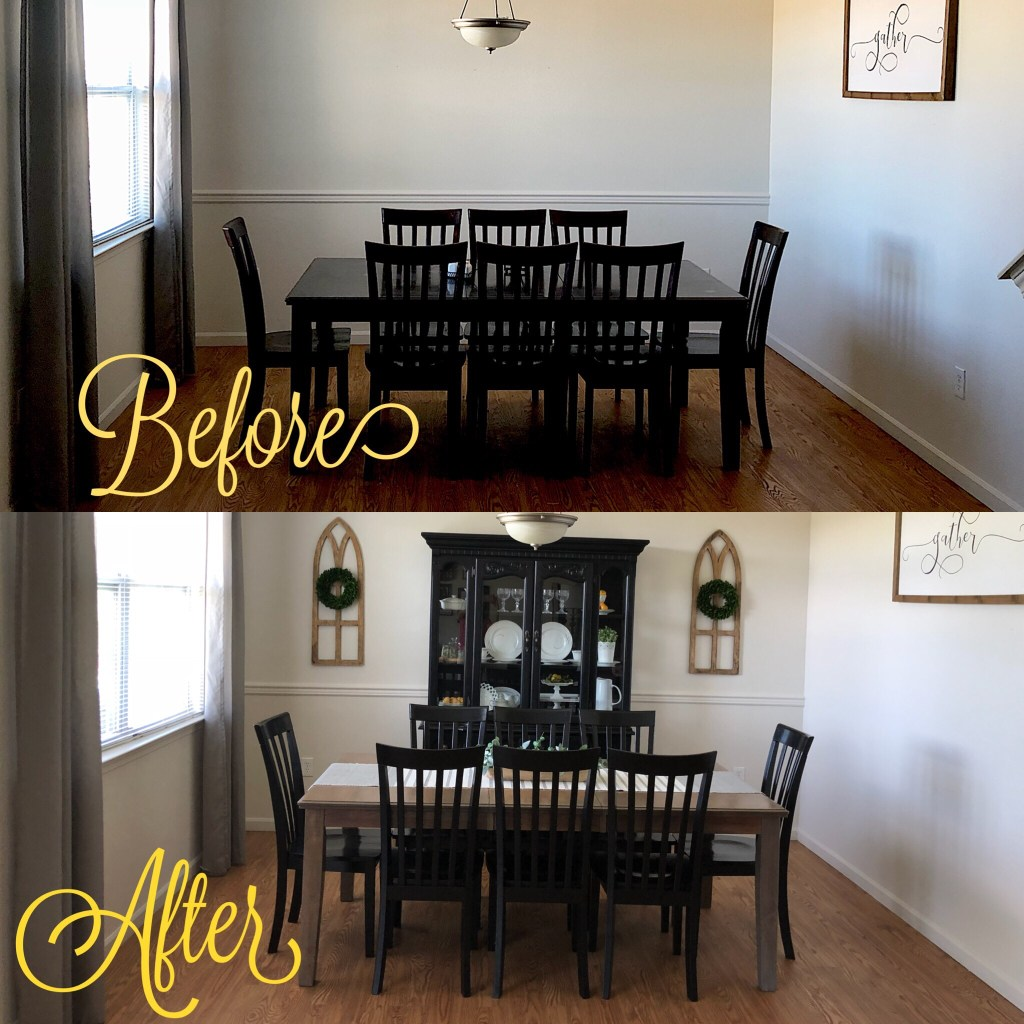 Farmhouse Dining Room Makeover By Melissa
