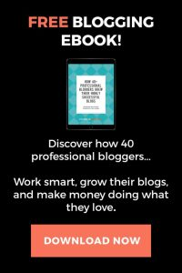 Free eBook - Advice from Blogging Pros