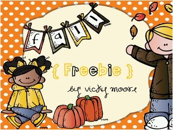 Fall Printable Freebies for Elementary Teachers: Printable Math Pack