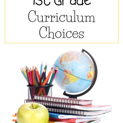 Top 1st Grade Homeschool Curriculum Choices