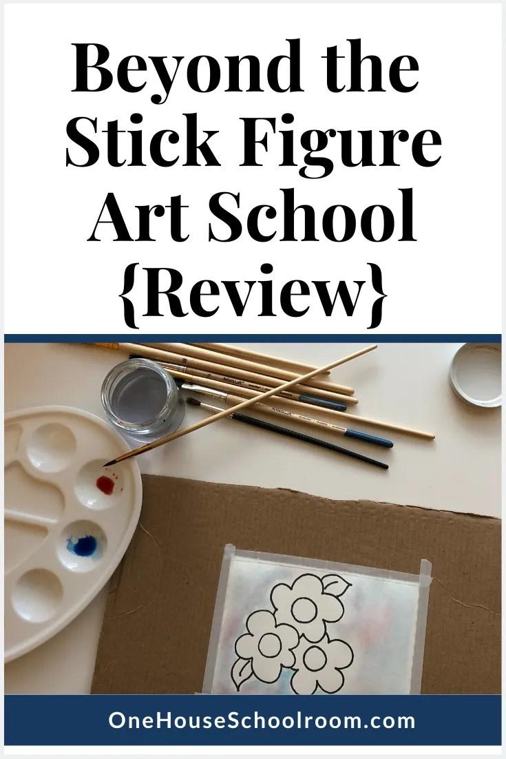 Beyond the Stick Figure Art School {Review}