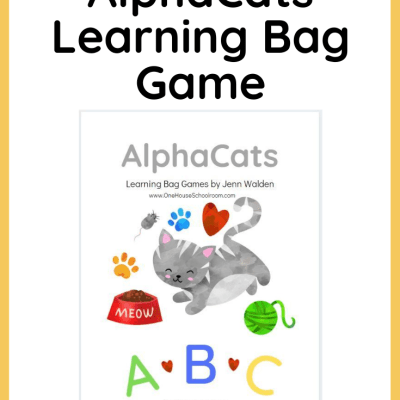 {Freebie} AlphaCats Learning Bag Game