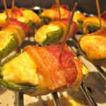 Stuffed Bacon Wrapped Jalapeno Peppers
