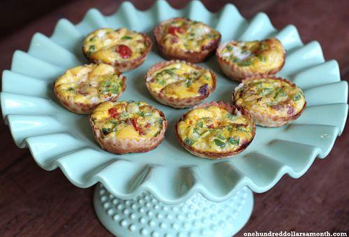 Recipe: Easy Mini Quiche with Bacon