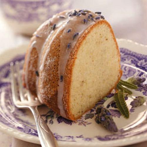 Almond Lavender Cake
