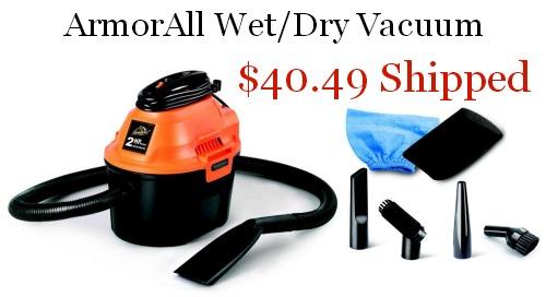 ArmorAll AA255 Utility Wet Dry Vacuum