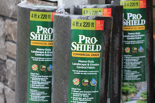 costco landscape fabric prevent weeds