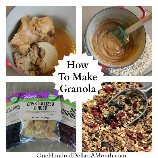 how to make granola recipe