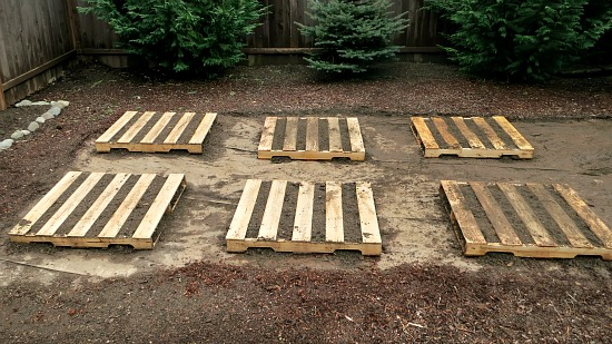 DIY Madeira Pallet Jardim