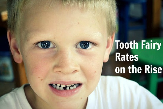 Tooth Fairy Rates on the Rise
