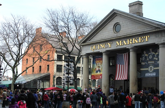 Faneuil Hall  Boston, Massachusetts  Quincy Market