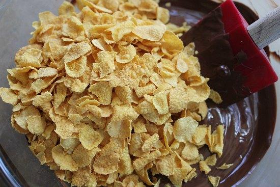 No Bake Chocolate Peanut Butter Haystack Cookies recipe