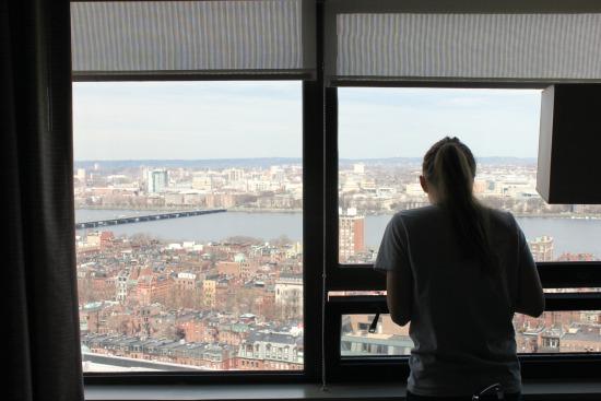 boston marathon 2013 hotel view