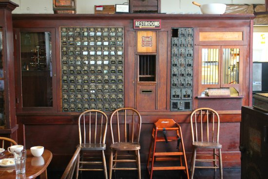 old post office boxes Steilacoom, Washington