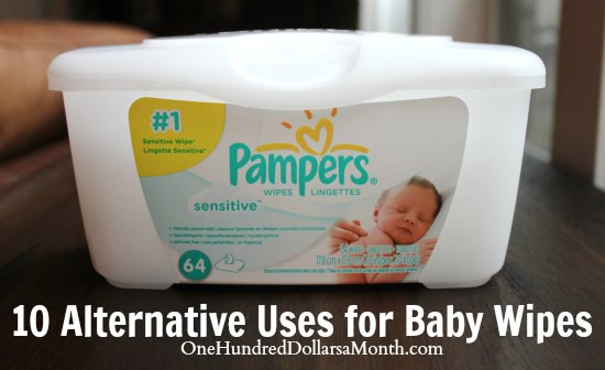 10 Alternative Uses for Baby Wipes