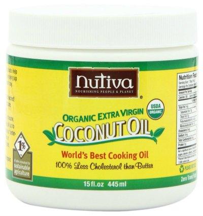Nutiva Organic Extra Virgin Coconut Oil