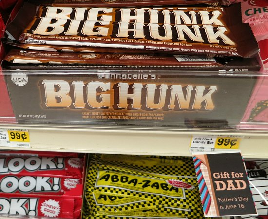 big hunk candy bar