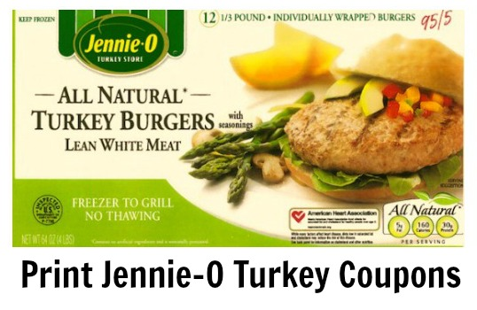 Jennie o turkey coupons
