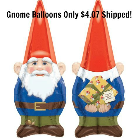 Birthday Gnome Balloon Shape