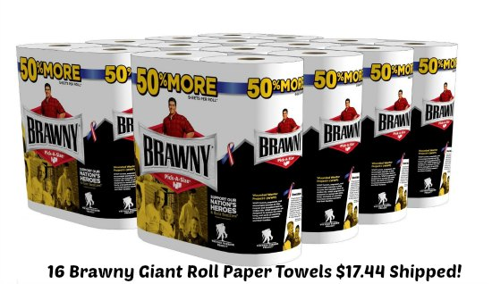 Brawny Giant Roll Paper Towel
