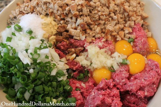 Easy Freezer Meals Simple Meat Loaf Recipe