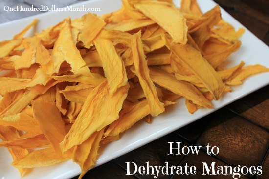 Dehydrated Mangoes | Top 17 Healthy Dehydrated Fruit Recipes You Can Make This Winter
