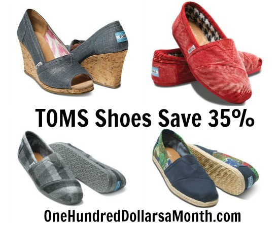 TOMS Shoes discount