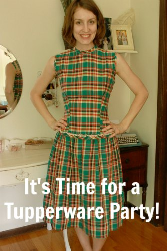 vintage plaid dress 1970s