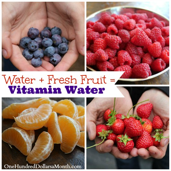 Make Your Own Vitamin Water - One Hundred Dollars a Month
