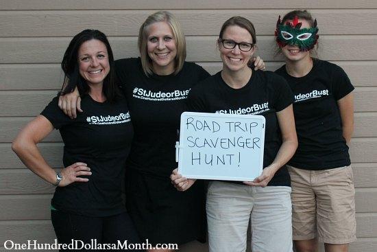 Road Trip Scavenger Hunt